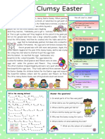 clumsy easter bunny worksheet
