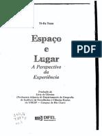 YI-FU TUAN - Espaco e lugar _ a perspectiva da experiencia.pdf