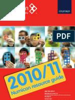 Numicon 2010/2011 Resource Guide