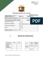 Archivo de Planificacion