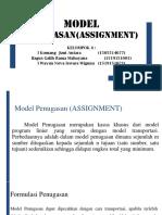 Model Penugasan Kelompok 6 Edit