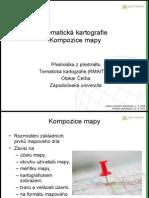 Tematická kartografie - kompozice mapy