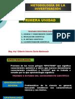 CONOCIMIENTO Y CIENCIA-PRIMERA UNIDAD.ppsx
