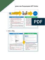 Tahapan Pengisian Dan Penyampaian SPT Online