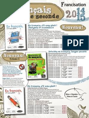 5 149 Fls Pdf Pdf Langue Francaise Lecture Processus