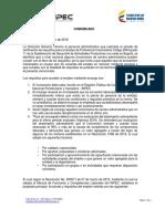 Comunicado Profesional Universitario Grado 11 Subdireccion Actividades Productivas