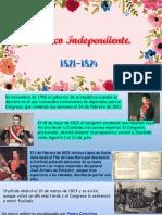 Formación mexico independiente