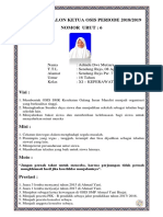 Kandidat Calon Ketua Osis Periode 2018