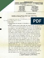 Communiqué de presse du JDC en date du 7 Juin 1939