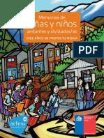 Memorias de Niños y Niñas Andantes y Olvidados - 10 Años de Proyecto NISICA