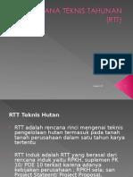 Rencana Teknis Tahunan (Rtt)