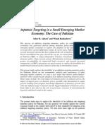 Inflation Targeting Small Emerging Market Economy