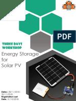 Energy Storage for Solar PV Brochure