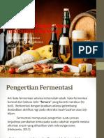 Mekanisme Fermentasi Dan Teknologi Fermentasi