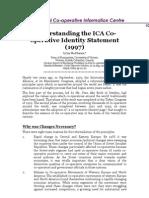 Understanding the ICA Cooperative Identity Statement