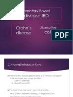 Ulcerative vs Chrons dse