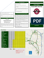 Warrenton Saturday Green Route Brochure 102018