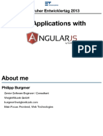 Web Apps With AngularJS