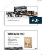 History of Philippine Mass Media