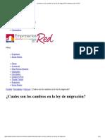¿Cuales Son Los Cambios en La Ley de Migración_ _ Empresarios en Red