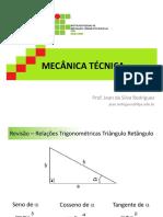 Aulas Mecânica Técnica Reestruturada 2016-2