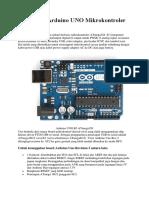 Pengertian Arduino UNO Mikrokontroler ATmega328