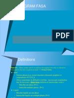 V Diagram Fasa