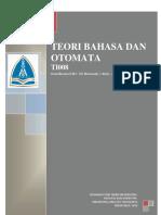 RPS Teori Bahasa Dan Otomata