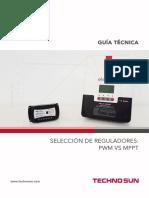 Guía de Selección de Regulador PWM o MPPT - TECHNO SUN