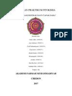 laporan fitokimia fraksinasi