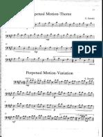 pepetual motion cello