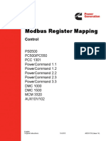 Modbus Register Mapping