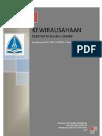 RPS Kewirausahaan