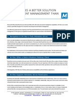 Why is M-Files a Better Solution for Document Management Than SharePoint