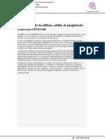malore fatale in ufficio, addio al professor Lanfranco Ferroni - Cronache maceratesi.it, 25 settembre 2018