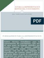 Clase 3 Formalismos Para La Representacion y Procedimientos Del Conocimiento