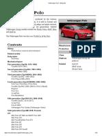 Volkswagen Polo - Wikipedia