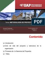 Unid IV_Sem 16 y 17 Metodología PMBOK UAP