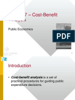 07 Cost Benefit Analysis