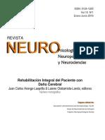Rehabilitación Integral Del Paciente Con Daño Cerebral