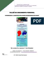 Teatro de La Sensacion Taller de Crecimiento Personal-0ctubre 018
