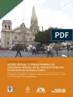 ACOSO SEXUAL Y OTRAS FORMAS  DE VIOLENCIA SEXUAL EN EL ESPACIO PÚBLICO