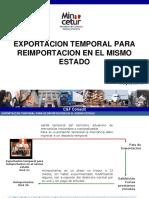 07 Exportacion Temp Reimportacion Mismo Estado