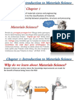 CHAPTER 1- Introduction to Materials Science