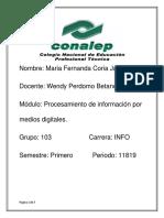 Avances Tecnologicos Fernanda Coria Info 103