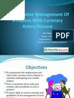 Rka Anesthesia and Coronary Artery Disease 2