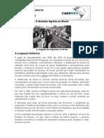 A Questão Agrária No Brasil- Breve Histórico- Geo Geral