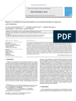 Gaulard-Balandret. 2012., Kinetics of Oxidation and Dissolution of Uranium Dioxide in Aqueous