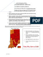 Indiana Radon Fact Sheet