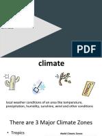 notes unit 1  chapter 1 lesson 3 climate